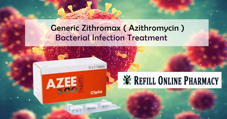 How Bacterial infection Treatment is easy with Generic Zithromax?